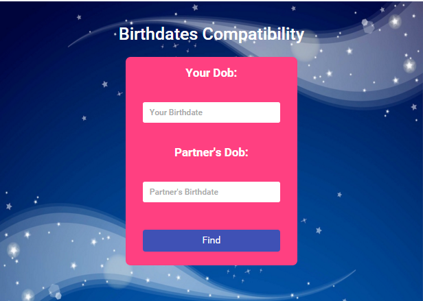 Birthdates Compatiblity 1